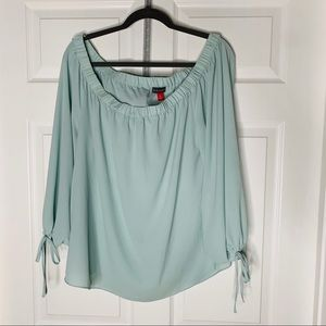Vince camuto xl off the shoulder loose top